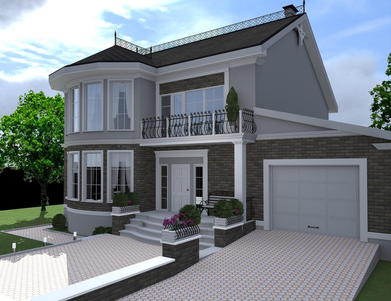 Индивидуальное проект дома в Симферополе