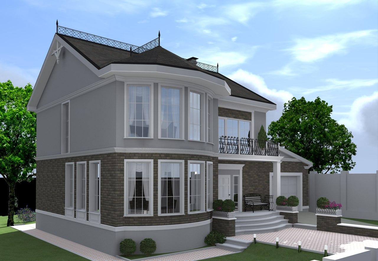 Проект частного дома в Симферополе.