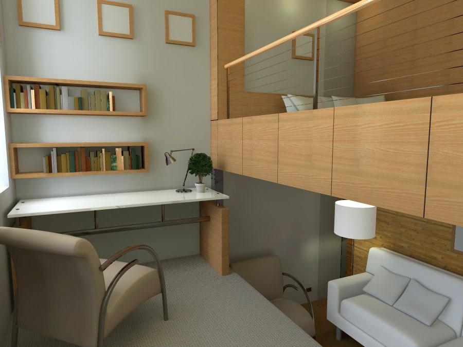 Проект реконструкции и перепланировки малогабаритной квартиры - Вид 2