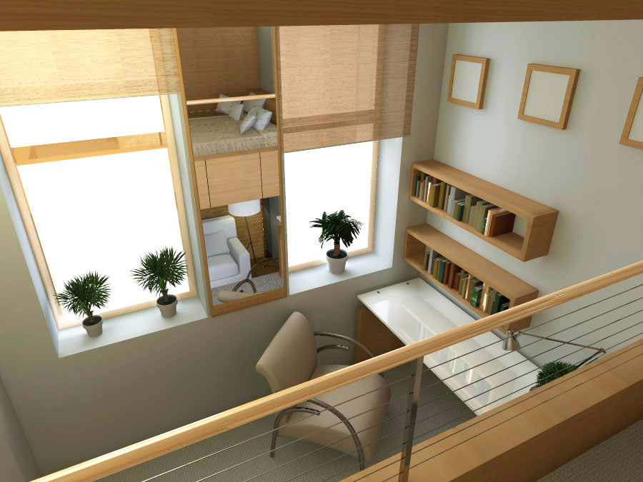 Проект реконструкции и перепланировки малогабаритной квартиры - Вид 4