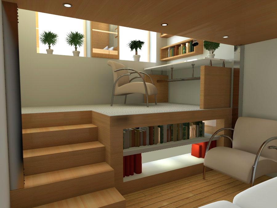 Проект реконструкции и перепланировки малогабаритной квартиры - Вид 5