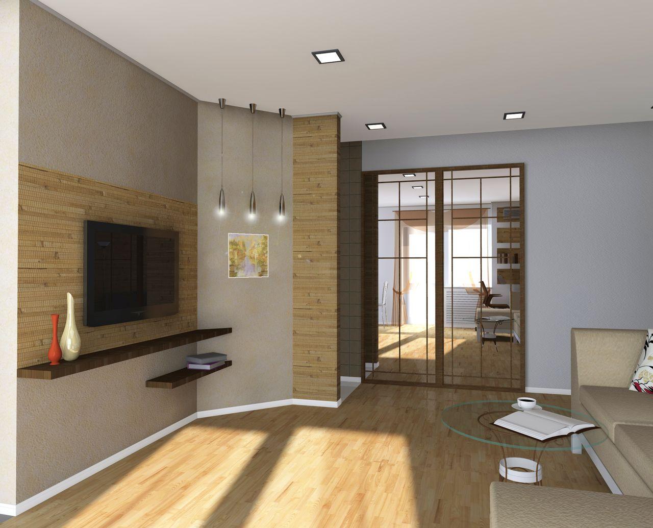 Современный дизайн интерьера квартиры - Гостевая комната вид 5