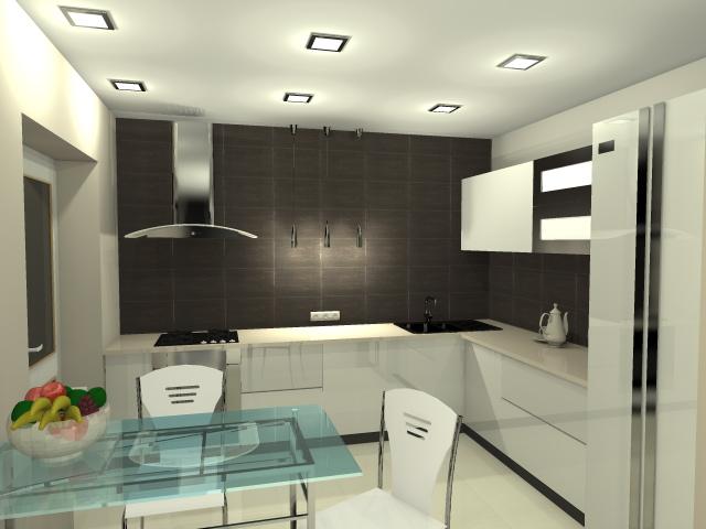Проектирование частных домов - Кухня вариант 1