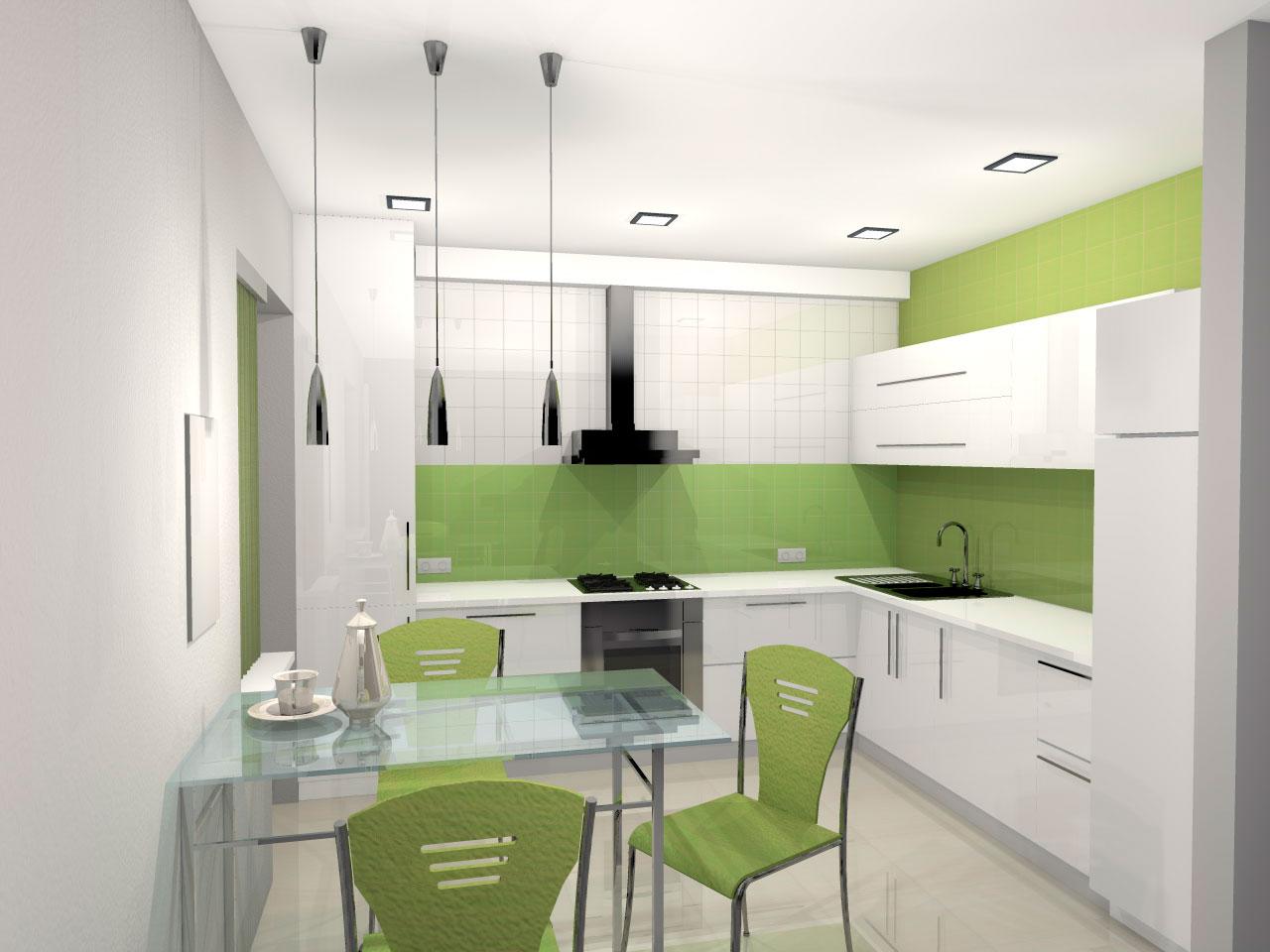 Проектирование жилых домов - Кухня вариант 2