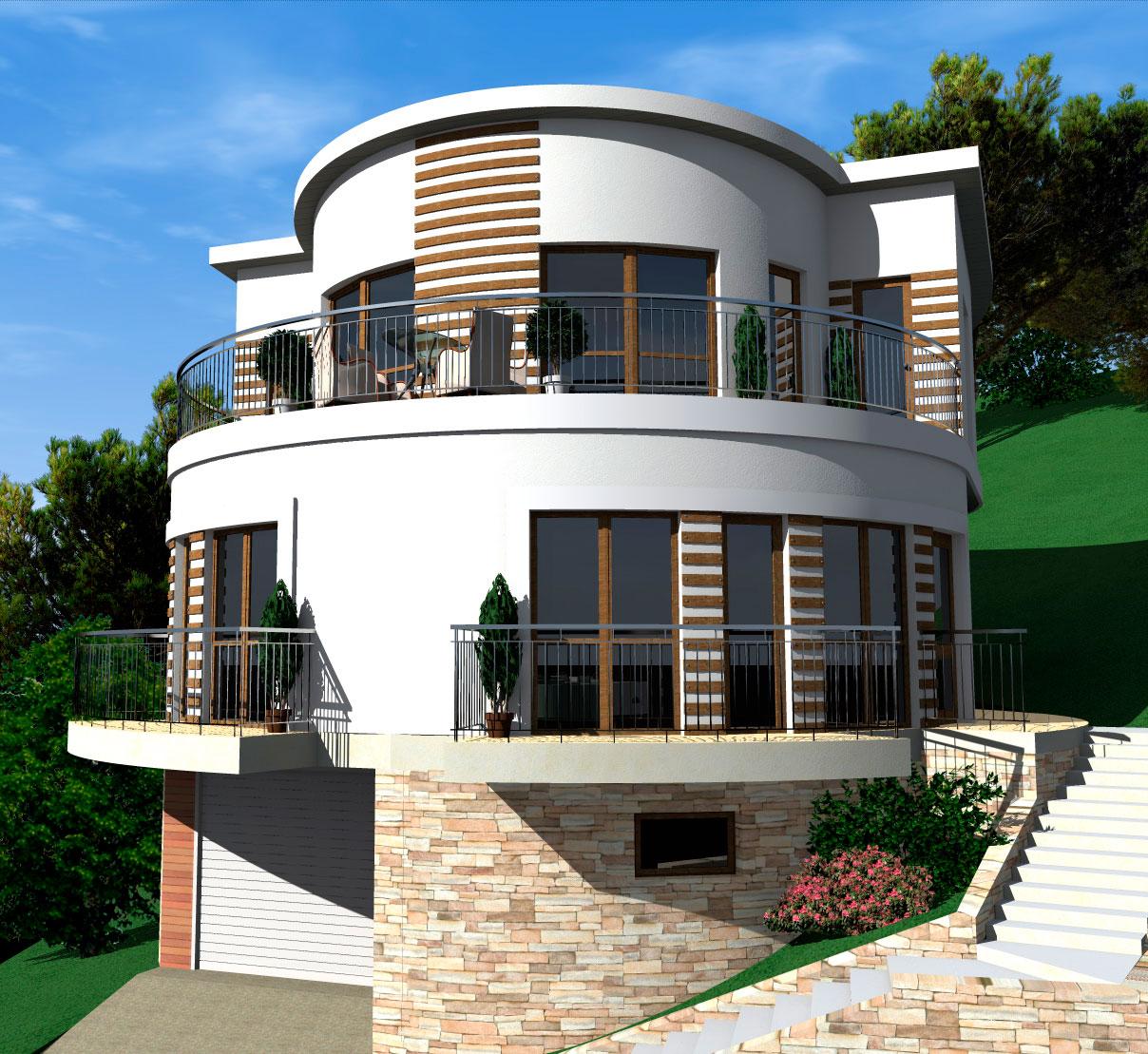 Авторский архитектурный проект дома.
