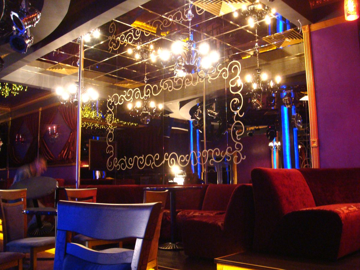Дизайн проект интерьера - Диско-клуб при ресторане «КАЛИПСО» в г. Белая Церковь