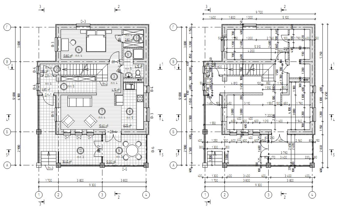разработка дизайн проектов квартир