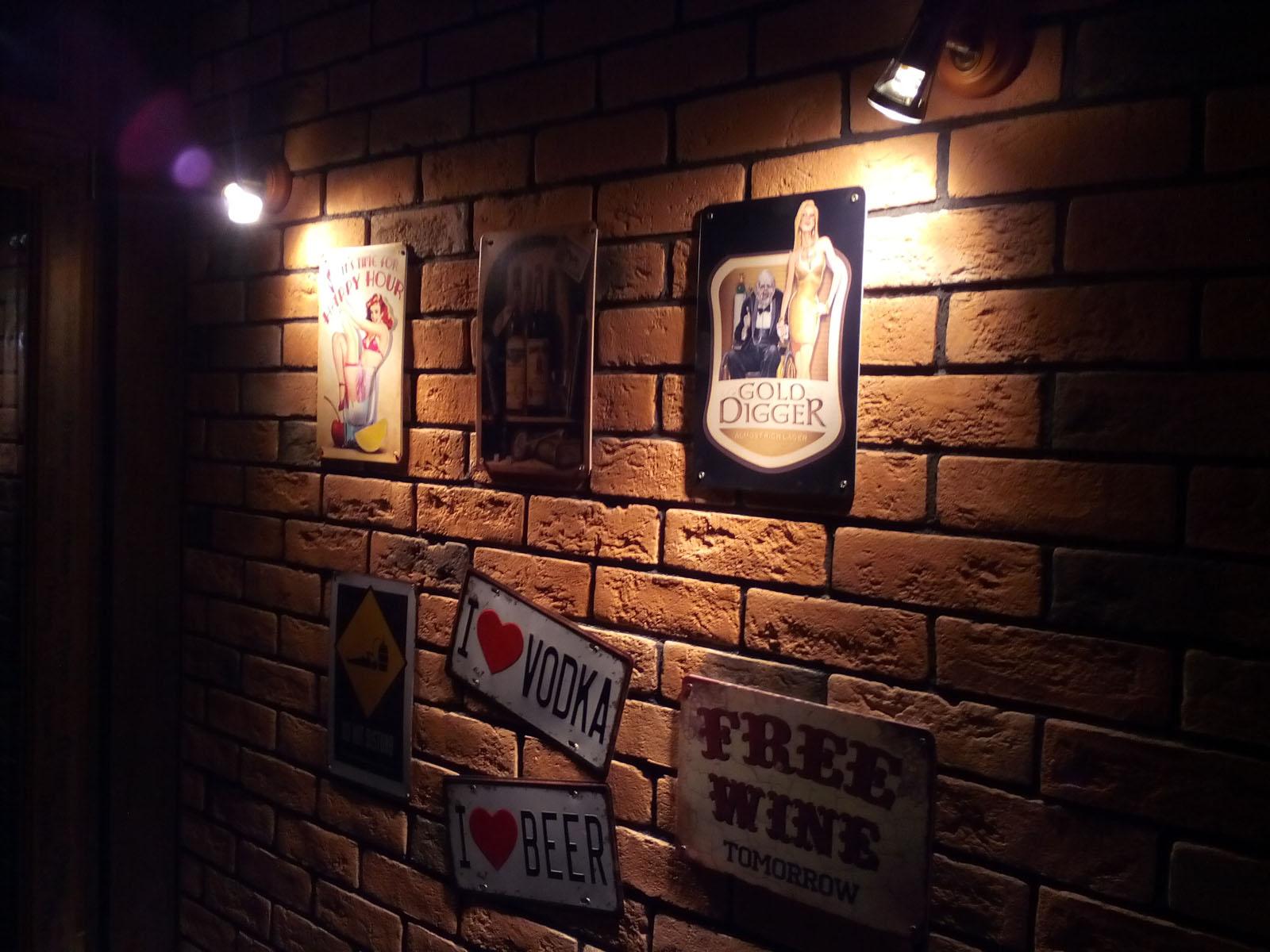 Декор кафе Барбургер