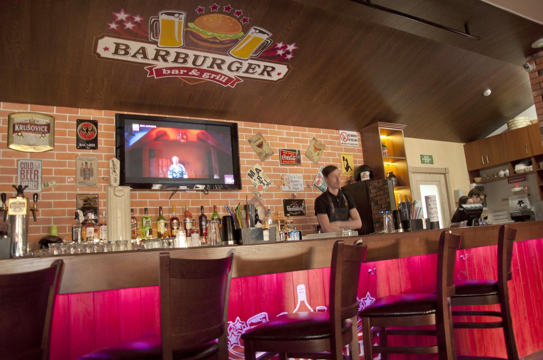 Дизайн барной стойки Barburger