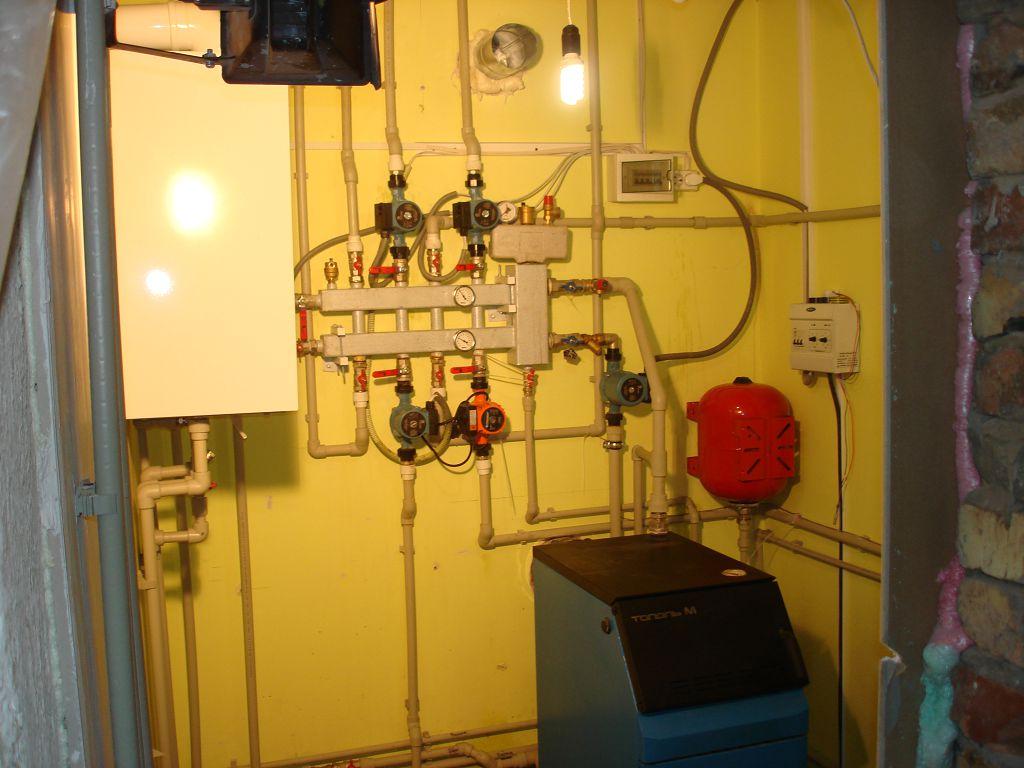 Монтаж отопления в Феодосии