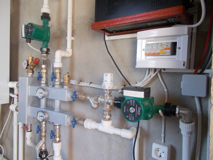 Резервное электроснабжение для циркуляционных насосов котельной в частном доме