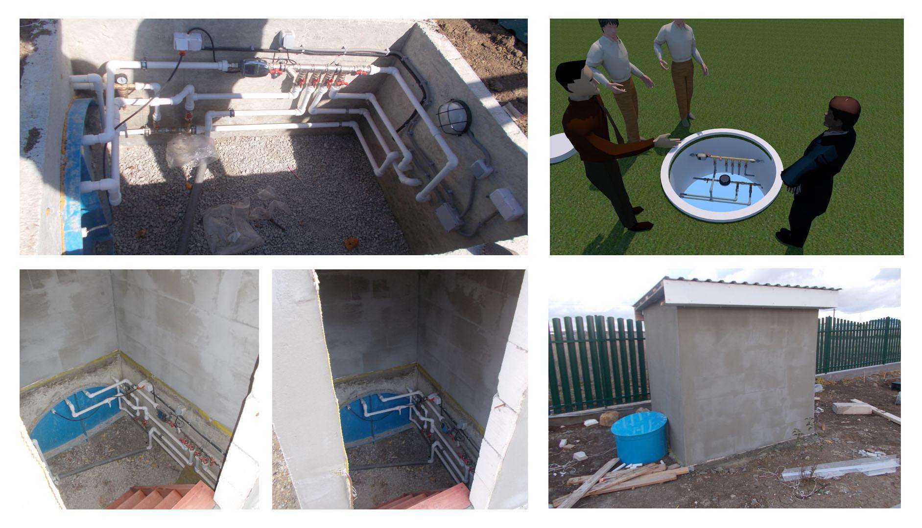 Резервное водоснабжение из ёмкости