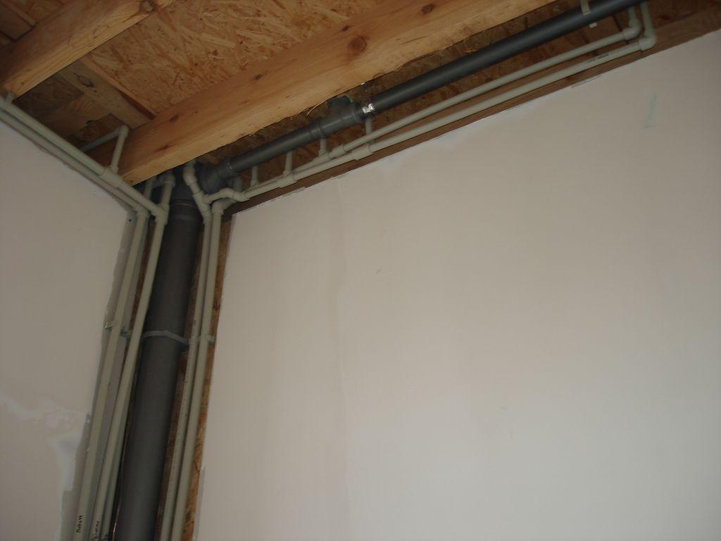 Разводка системы отопления, водопровода и канализации