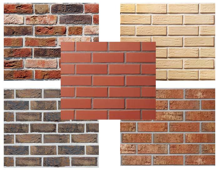 Отделка фасада дома клинкерной плиткой или декоративным камнем
