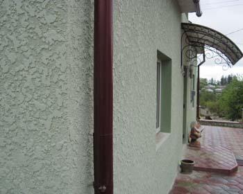 Отделка фасадной штукатуркой в Феодосии