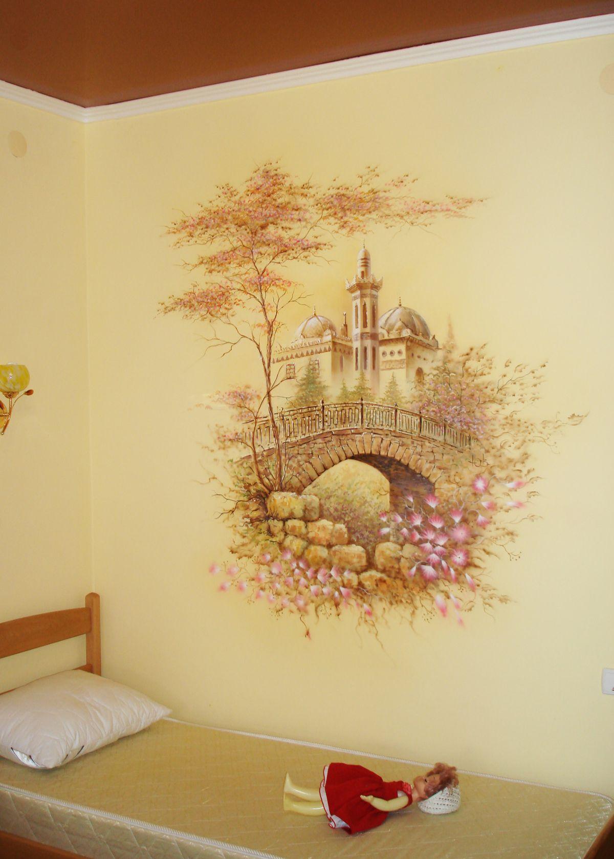Декор стен - Дача Стамболи