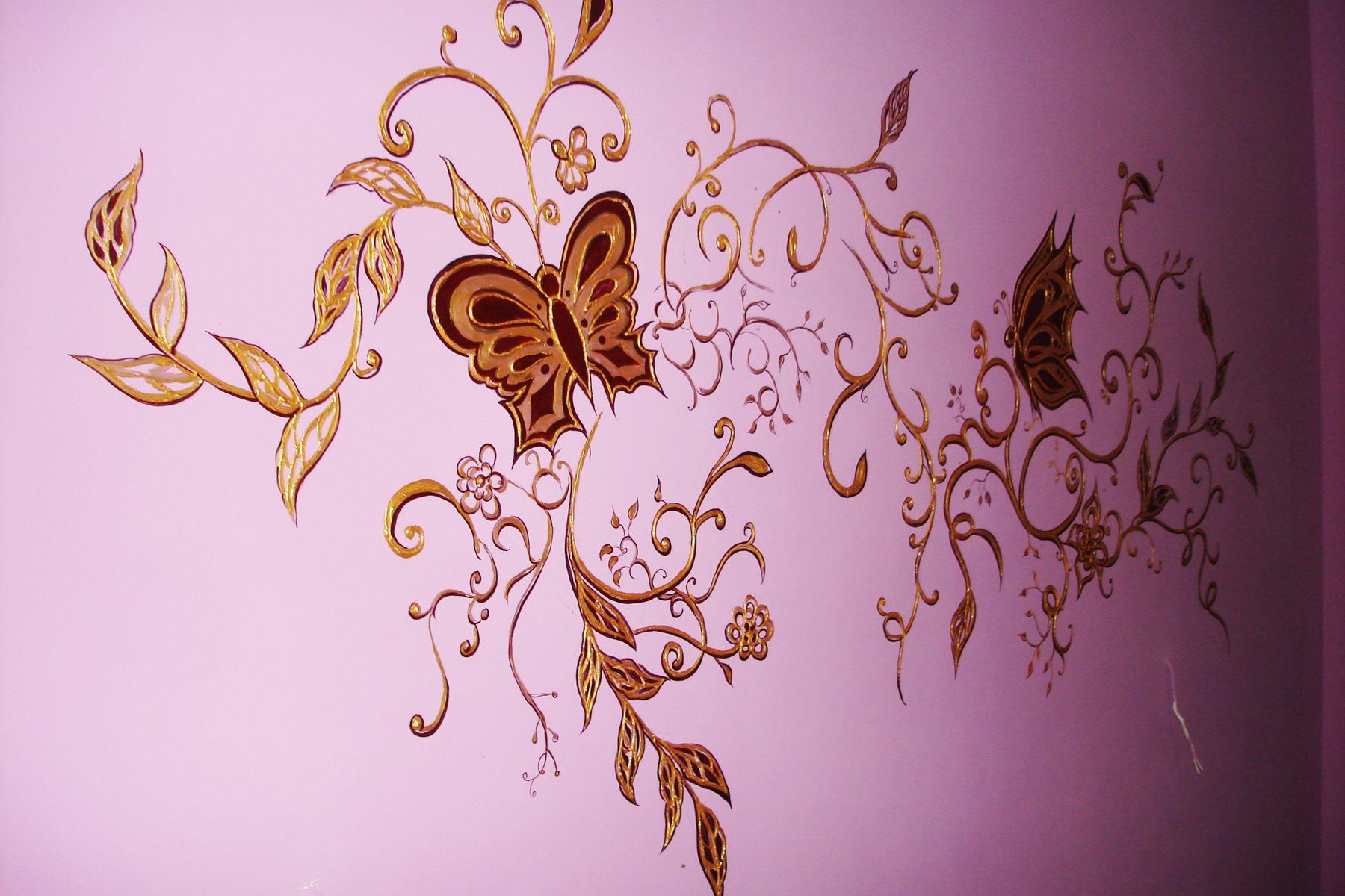 Арнамент - Декоративная роспись стен